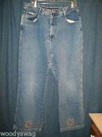 R V T Jeans Serve Piping Hot Size 20 100% Cotton Classic RVT Inseam 30 Medium