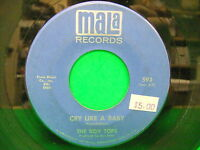 "The Box Tops Cry Like A Baby / The Door You Closed To Me 1968 7"" 45 Mala 593"