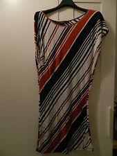 Abito a righe maglia lunga RINASCIMENTO stripe dress tunic L