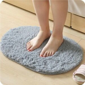 Non Slip Bathroom Comfortable Bathmats Toilet Foot Floor Mats Rug Toilet Carpe