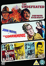 JOHN WAYNE 3 DISC SET  - The Undefeated/ The Comancheros/ North To Alaska - NEW