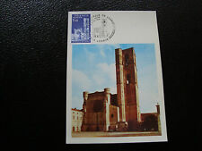 FRANCE - carte 1er jour 13/11/1976 (cathedrale de lodeve) (cy42) french
