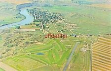FORT BENTON, MONTANA established 1846 Big Sky Aerial Photo