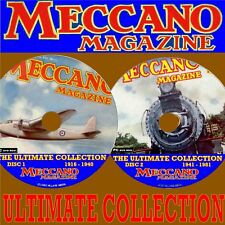 FULL SET OF MECCANO MAGAZINE COLLECTION 2 PC DVD SET EVERY EDITION 1916-1981 NEW