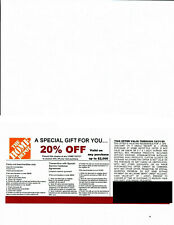 ***1***20% OFF HOME DEPOT Competitors Coupon to use at Lowe's expires 12/31/20