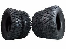 New (2x) 26x11-12 (2x) 26x9-12 KT MassFx TIRE SET ATV TIRES 6 PLY (4) Set