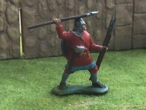 Engineer Basevich. Slav or Viking Warrior. 60mm painted plastic