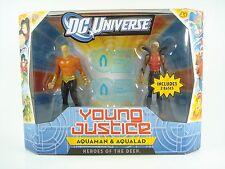 """DC Universe YOUNG JUSTICE CARTOON - 4"""" (2 pack) Aquaman & Aqualad"""
