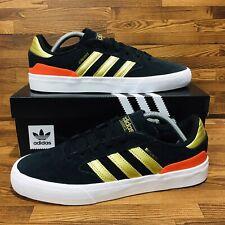 Adidas Originals Busentz Vulc 2 Men's Skate Shoes Black Athletic Casual Sneakers