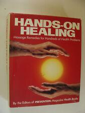 Hands-On Healing 1989 Massage Remedies for 100s of Health Problems John Feltman