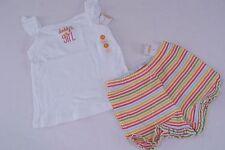 Gymboree Aloha Sunshine Girls Size 5 5T Daddy's Shirt Top Stripe Shorts NWT NEW