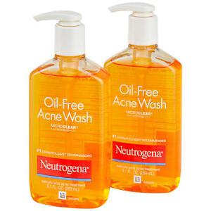 Neutrogena Oil-Free Acne Fighting Face Wash (9.1 fl. oz., 2 pk.)
