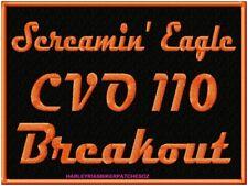Screamin Eagle CVO 110 BREAKOUT -   LARGE BIKER PATCH