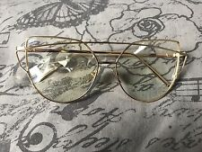 Cat Eye Style Clear Lens Glasses