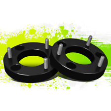 """PAIR 1.5""""FRONT TOP MOUNT LEVELING LIFT KIT SPACER FOR 04-17 FORD F150 2/4WD BLK"""
