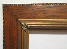 CORNICE ANTICA 70x59 PER DIPINTI LEGNO DORATO EPOCA LIBERTY ART NOUVEAU R107