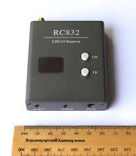 Boscam RC832 32Ch 5.8Ghz audio video inalámbrico receptor de FPV RC Cuadricóptero Av Rx