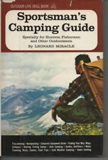 Outdoor Life Sportsman's Camping Guide Book Leonard Miracle Hunters Fishermen