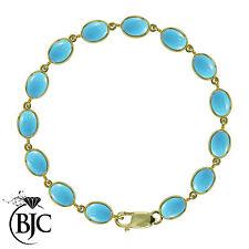 Natural Not Enhanced Turquoise Fine Bracelets