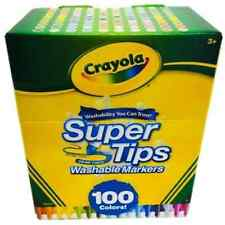 Crayola Super Tips Washable Markers 100 Count