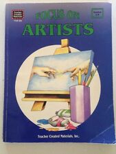Focus on Artists by Mary Ellen Sterling Paperback Elementary Middle School Art
