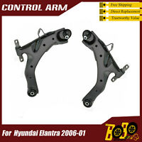 Front Lower Left Right Control Arms with Ball Joint for 01-06 Hyundai Elantra