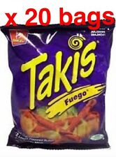 Takis Fuego 4 oz. box of 20 FRESH  New Sealed