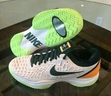 54274ec41d5f6 Nike Air Zoom Cage 3 Hardcourt HC Tennis Guava Orange Green Women s 12 Mens  10.5