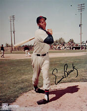 ERNIE BANKS-CHICAGO CUBS-Autographed 8x10 Picture-Hall Of Fame-500 HOMER CLUB