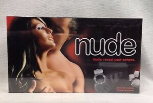 Nude Couples Board Game Lovers Foreplay Penis Ring & Mask Sexy Anniversary Gift
