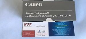 1 BOX of 3 OEM Canon 6707A001 6707A001AC 1380300119 STAPLE J 1C6800 C5800 C5180i