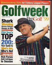 Golf Week Magazine December 12 1998 Greg Norman 072717nonjhe