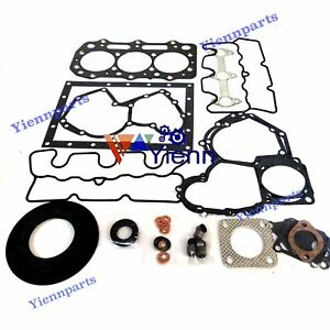3011C Overhaul Gasket Kit For Caterpillar CAT Mini Excavator Engine Spare Parts