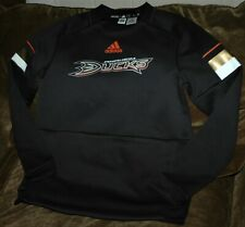Anaheim Ducks pullover sweatshirt Adidas women's small 2019 NHL NEW with tags