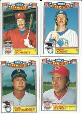 """1984 TOPPS COMMEMORATIVE """"1983 ALL-STAR GAME"""" INSERT::  You Pick One (1) Card"""
