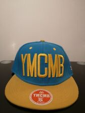 Brand New YMCMB Hollister Snapback Blue Yellow Adjustable Size w tag