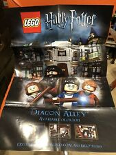BRAND NEW LIMITED EDITION LEGO HARRY POTTER DIAGON ALLEY POSTER FREEPOST