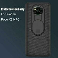 Für Xiaomi Poco X3 NFC Nillkin Slide Cover Kameraobjektivschutz Case Back L7X0