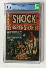 Shock SuspenStories #6 - E.C. 1953 CGC 4.5 -Classic bondage cover! 🔑 🔥 🔑 🔥