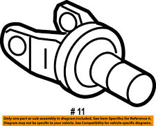 FORD OEM Carrier Front Axle-Universal Joint U-Joint Yoke Left 5C3Z3B387B