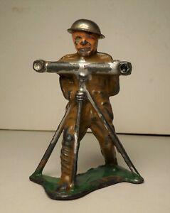 VINTAGE RANGE FINDER BARCLAY B 70 LEAD SOLDIER MANOIL