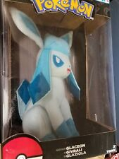 Tomy Pokemon GLACEON Plush 2017 Toys R Us Exclusive Perfect Holiday Gift