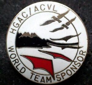 RARE Hang Gliding and Paragliding Association of Canada Pin - World Team Sponsor