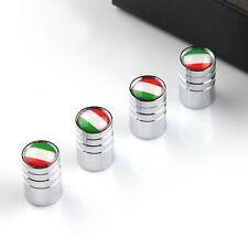 4Pcs Silver Car Truck Bike Wheel Tire Valve Stem Caps Italy Italian Flag for BMW