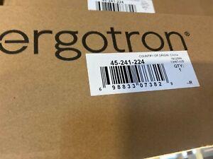 New Ergotron 45-241-224 Lx Desk Monitor Arm (45241224) (Black Finish)