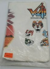 Vintage Voltron Paper Tablecloth Unopened Table Cover 1980's Party Decorations