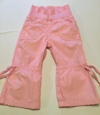 Girls Benetton Pink Trousers 18 Months - Good Condition
