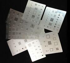 9pcs BGA Stencils template for iPhone6 6 Plus 4gs 3s 3g 5g 5c 5s 6sp Direct Heat
