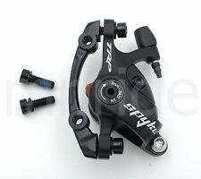 TRP SPYKE MTB Bike Mechanical Rear 140mm Disc Brake Caliper W/ Adapter Black