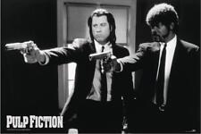 Uk-importpulp Fiction Laminated Vincent Vega And Jules Winnfield Maxi Poster
